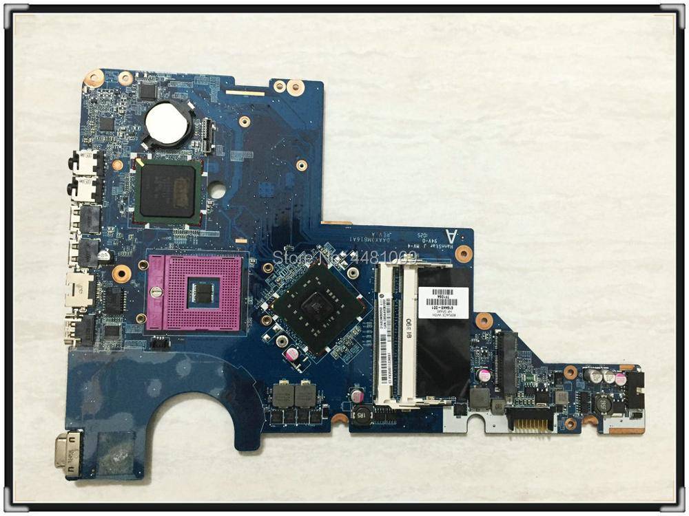 HP pavilion COMPAQ CQ62 G62 G72 laptop motherboard  616449-001 Intel CPU