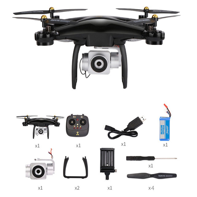 Original JJRC H68G 5G Wifi FPV With 1080P Camera Double GPS Attitude Hold 15Mins Flight Time RC Drone Quadcopter RTF