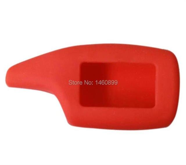 Силиконовый чехол для брелка автосигнализации Scher-Khan Magicar 5 6 ( Чехол для брелка сигнализации Scher Khan M5 M6 M902F M903F) 2