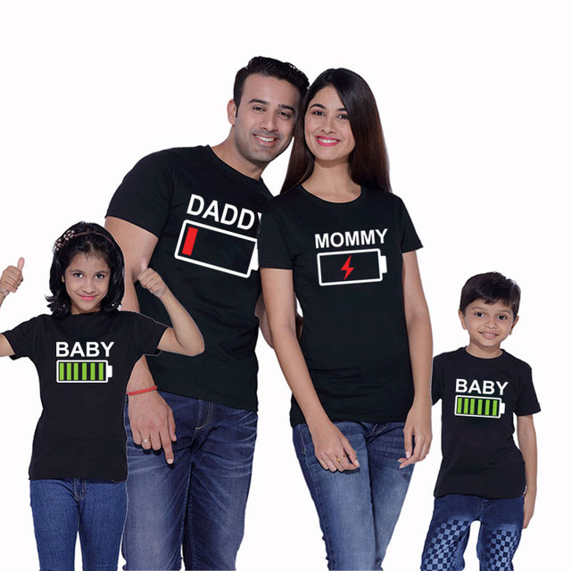 US $5 17 48% OFF|father mother son daughter family matching clothes look  outfits clothing t shirt mom mommy daddy and me baby boy girl dress nmd-in