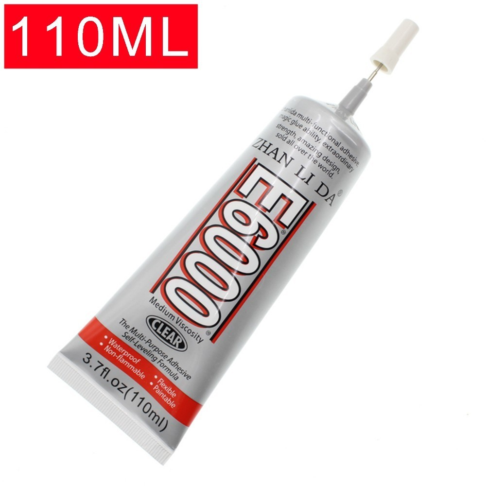 E6000 110ml Super Glue Liquid Adhesive Multipurpose Industrial For DIY Jewelry Crystal Rhinestone Phone Screen Glass Glue Tool