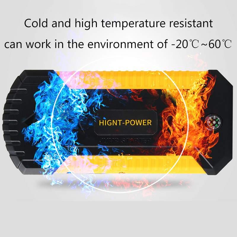 Démarreur de saut multifonction 89800 mAh 4USB 600A chargeur de batterie de voiture d'urgence Booster batterie externe dispositif de démarrage - 5