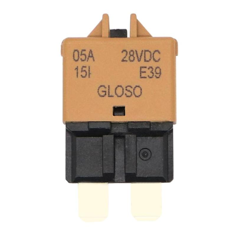 DC 28V Manual Reset ATC Circuit Breaker Blade Fuse for Car Motorcycle Truck Boat Marine Auto Accessories 5A 7 5A 10A 20A 25A in Fuses from Automobiles Motorcycles