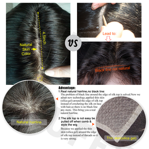 Image 5 - LUFFYHAIR короткие парики боб бразильские 100% прямые волосы Remy 5*4,5 шелковая основа полностью кружевные человеческие волосы парики предварительно выщипанные отбеленные узлы