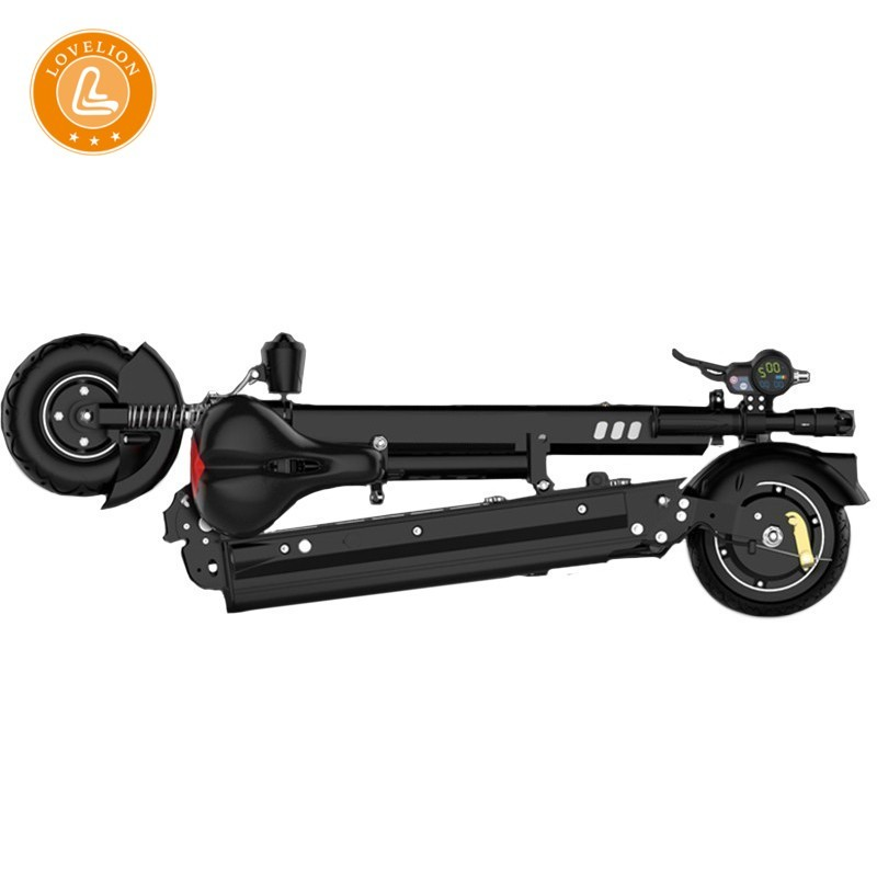 LOVELION Adult Electric foldable scooter power folding 18650 lithium battery motor Driving Fold motorcycles bike scooters