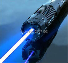 450nm High Power 500w 5000000mw Blue Laser Pointers Flashlight burn match candle lit cigarette wicked wholesale LAZER Hunting. цена 2017