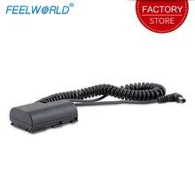 Feelworld LE P6 манекен Батарея для F5 S55 FW568 MA5 монитор совместим с Canon 5D4 5DSR 5D2 5D3 6D 60D 7D 7D2 70D 80D 6D2