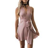 84ffa46ffd 2018 Summer Sexy Women Convertible Dresses Infinity Wrap Robe Femme Bandage  Beach Club Party Dresses Vestidos. 2018 Lato Kobiet ...