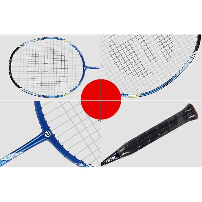 Pro Badminton Part Carbon Aluminium Full Racket Badminton Accessory Racket Training Racket Professional Sports Equipment