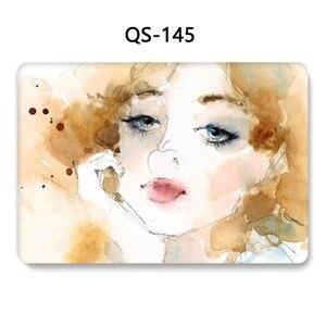 Image 3 - Для MacBook Air Pro retina 11 12 13,3 15,4 дюймов для ноутбука чехол для ноутбука MacBook с защитной клавиатурой