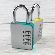 4 Dial Digit Combination Password Padlock Code Lock Portable Protect Locker for Travel Suitcase Baggage Luggage Backpack Drawer(China)