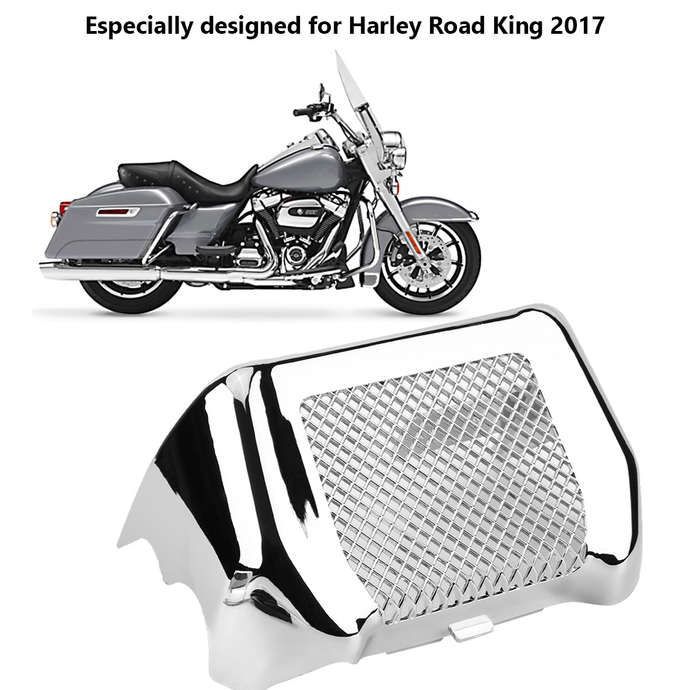 Covers & Ornamental Mouldings Persevering Motorcycle Abs Oil Cooler Cover Protector Kit With Bracket Universal For Road Glide Street Glide Road King Fltrx 2017-2018 New Curing Cough And Facilitating Expectoration And Relieving Hoarseness