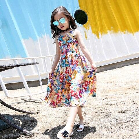 4f034e3e1ad88 Pk Bazaar bohemia children dress 2018 brand new girls dresses bo in ...