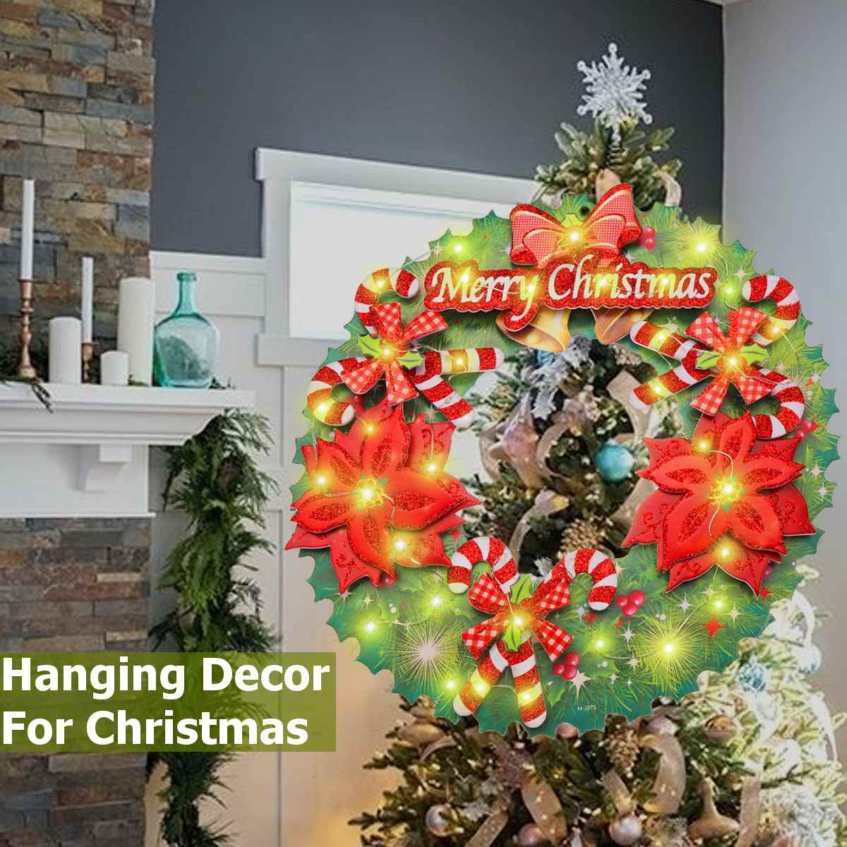 Christmas Board Design.Us 8 23 53 Off Warm Led Light Up Decor Wreath Paper Board Hanging Ornaments For Christmas Xmas Party Diy Layout On Flash Off Diameter 36cm In