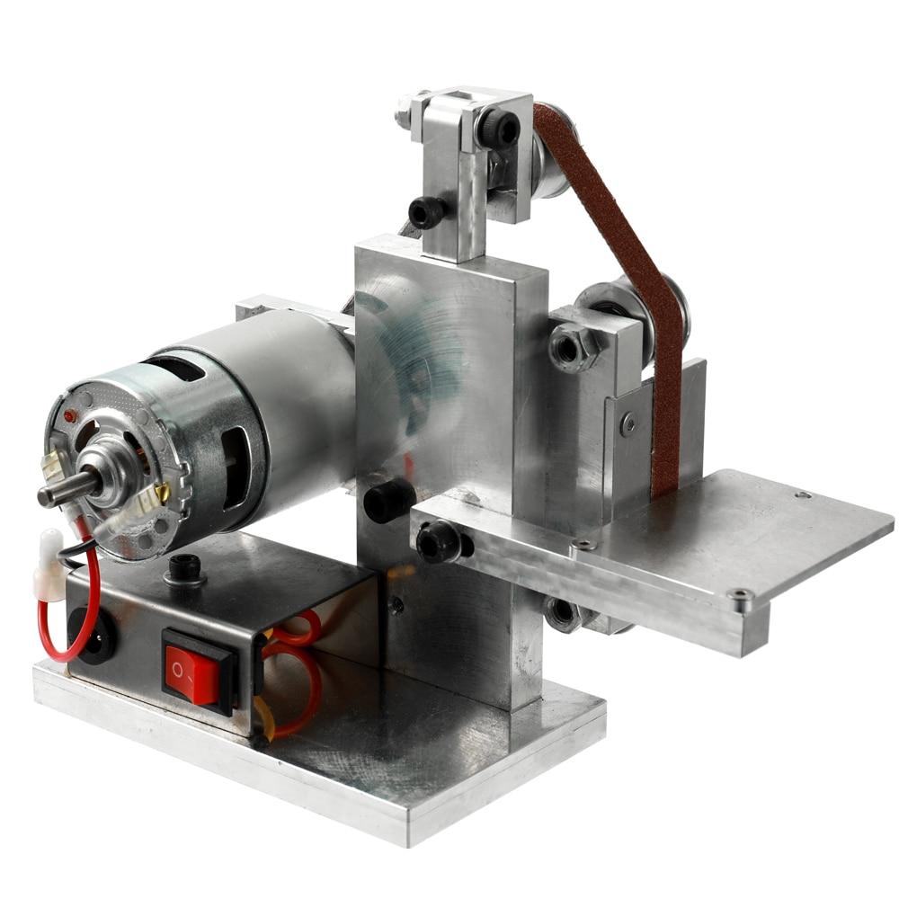 Multifunctional Grinder Mini Electric Belt Sander DIY Polishing Grinding Machine Cutter Edges Sharpener-in Grinders from Tools    3
