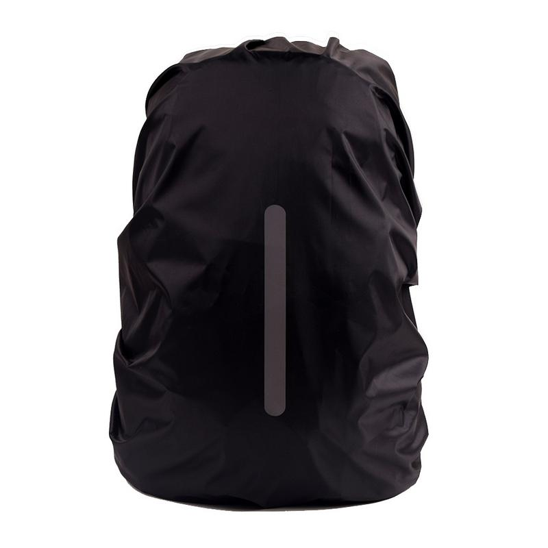 Reflective Waterproof Backpack Rain Cover Outdoor Sport Night Cycling Safety Light Raincover Case Bag Camping Hiking 25-55L