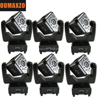 6PCS/LOT Magic Cube Led Beam Moving Head Light Colorful 6x12W with RGBW for Dj Disco Stage and Bar Led Magic Cube Beam Moving