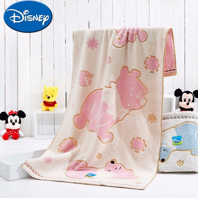 US 40 OFF Disney Baby Towel Set 3pcs Soft Cotton Face Bathing Towel Newborn Baby Handkerchief Cartoon Pooh Printed Towels In Towels From