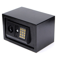 Digital Electronic Safe Box Steel Plate Keypad Lock Wall Security Cash Jewelry Hotel Cabinet Safes Secure Lockable Boxes