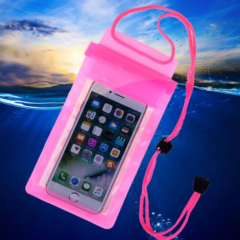 Summer Waterproof Backpack Floating Sport Bag PVC Phone Pouch Swimming Phone Dry Bags Pocket Case Cover For Samsung Xiaomi