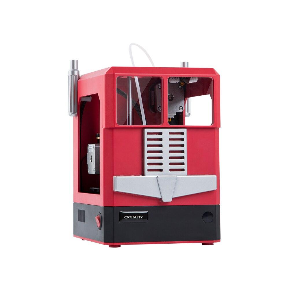 NOUVEAU! Creality CR-100 modèle Junior imprimante 3D format compact imprimante 3D de bureau entièrement assemblé nivellement automatique avec télécommande