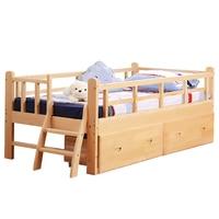 Cocuk Yataklari Baby Crib Bois litera Wood Hochbett Children Wooden Lit Enfant Bedroom Furniture Muebles Cama Infantil Kids Bed