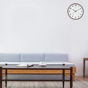 Image 3 - Geekcook 12 дюймов классические настенные часы Бесшумный кварцевый термометр гигрометр Влажность не тикает для комнаты офиса Прямая поставка