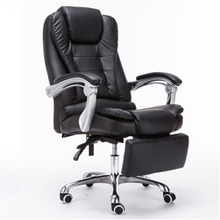 Reclining Y1002 Adjustable Boss Office Armchair Fashion Leather Computer Leisure Gaming Massage Chair Swivel Seat With Footrest