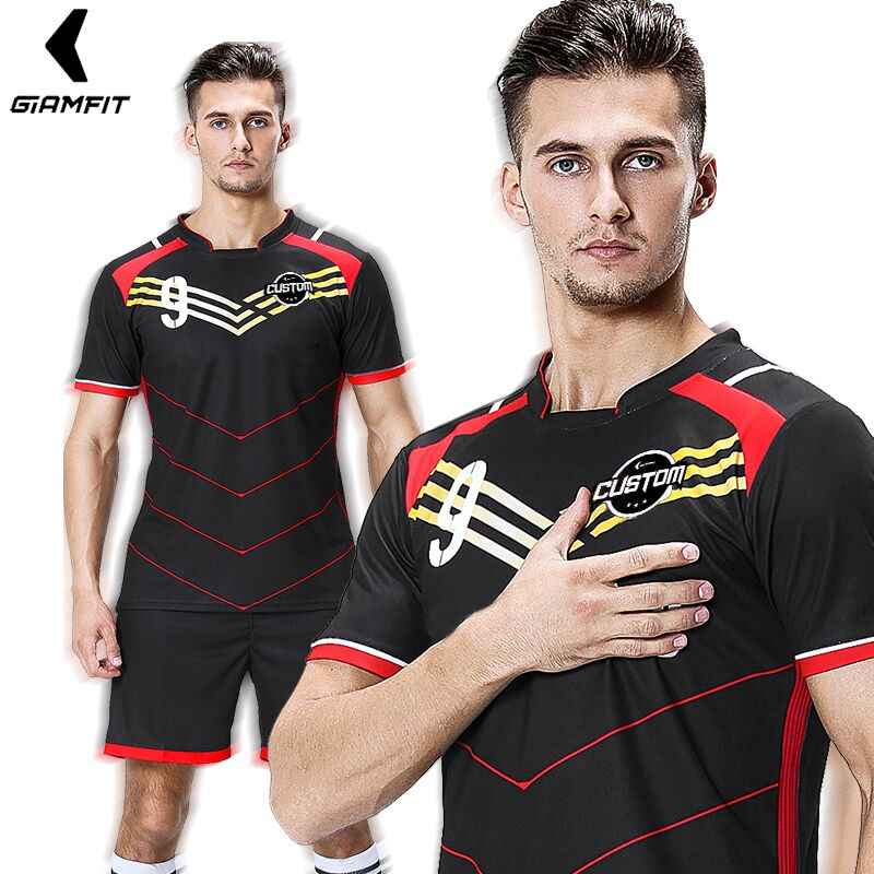 6f3d0ecc7 College Football Jersey 2019 Maillot France Soccer Jersey Sports Kits Short  Sleeves Shirt Shorts Team Training