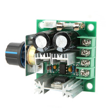 цена на 12V-40V 10A PWM DC Motor Governor Stepless Variable Speed Control Switch Module 0.01-400W DC Motor Speed Controller