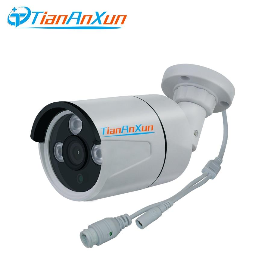Tiananxun  Ip Camera Outdoor 1080P Security Cctv Cameras Poe Video Surveillance 960P Street Cam 720P Onvif P2P