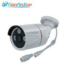 Tiananxun poe كاميرا Ip في الهواء الطلق 1080P الأمن كاميرات الدوائر التلفزيونية المغلقة poe المراقبة بالفيديو 2.0mp شارع كام Onvif P2P