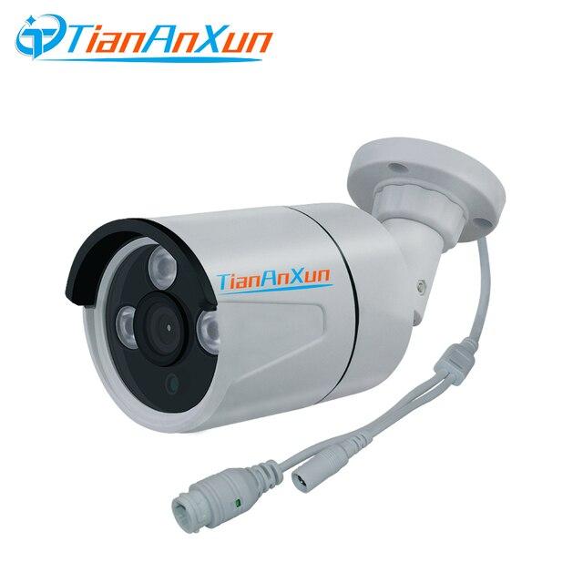 Tiananxun poe Ip Camera Outdoor 1080P Security Cctv Cameras poe Video Surveillance 2.0mp Street Cam Onvif P2P