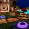 Swimming Pool Solar Floating LED Lights Garden Night Lights Water Drift Lamp Solar-Powered Lawn Lamp Home Garden Creative Light discount