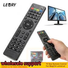 LEORY w celu uzyskania TV pudełko pilot zdalnego sterowania dla Mag254 kontroler dla Mag 250 254 255 260 261 270 IPTV TV do Set-Top Box hurtownie tanie tanio Universal TV Box Remote Control Other