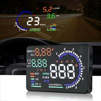 A8 5.5 Inch OBD HUD Car Head Up Display On Board Computer hud Display Car Electronics obd2 Car Speedometer Windshield Projector