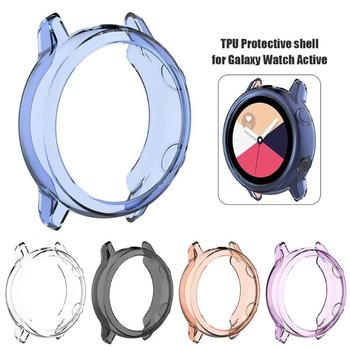 Clear TPU Protector for Samsung Galaxy Smart Watch Active Case Smart Watches Protective Cover Smartwatch Active Accessories image