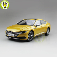 1/18 FAW VW CC Diecast Car Model Toys Boy Girl Birthday Gift Collection Hobby Gold