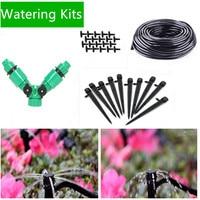 25/30 m Garten Diy Micro Drip Bewässerung System Anlage Selbst Automatische Bewässerung Timer Garten Schlauch Kits Mit Einstellbare tropf Be01