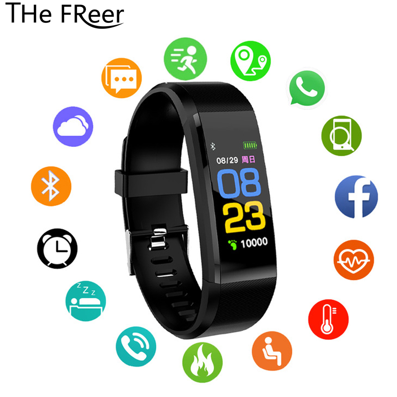 Sport Smart Watch Children women Watches Kids For Girls Boys Electronic Wristwatch Color LED Digital Child band Clock Smartwatch(China)