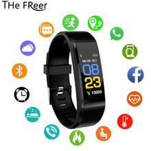 Sport Smart Watch Men Women Watches Kids For Girls Boys Electronic Wristwatch Color LED Digital Child band Clock Smartwatch(China)