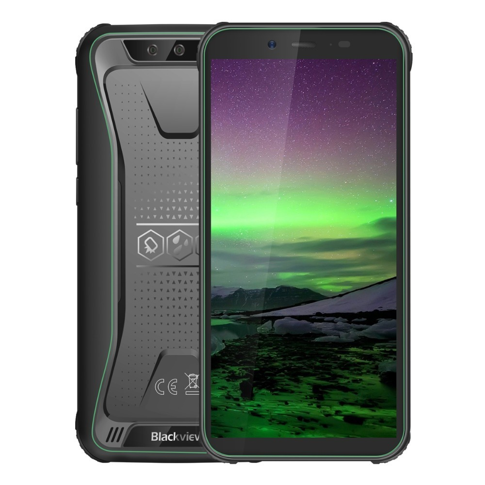 Blackview BV5500 IP68 Waterproof shockproof Mobile Phone Android 8.1 rugged 3G Smartphone 5.5