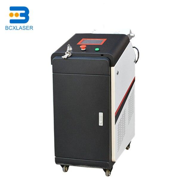 Aucun dommage à la pièce de travail 3D nettoyage 50 W/100 W/200 W fibre laser machine de nettoyage pour surface incurvée, surface de nettoyage douce