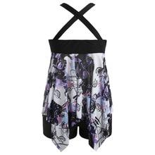 Plus Size Criss Cross Skirte Beachwear