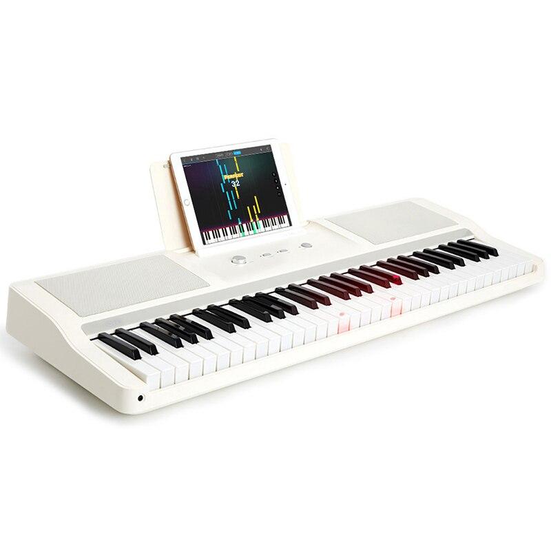 TheONE TOK1 orgue électronique intelligent de Xiaomi Youpin Instrument de musique débutant 61 touches Support écouteur orgue électronique