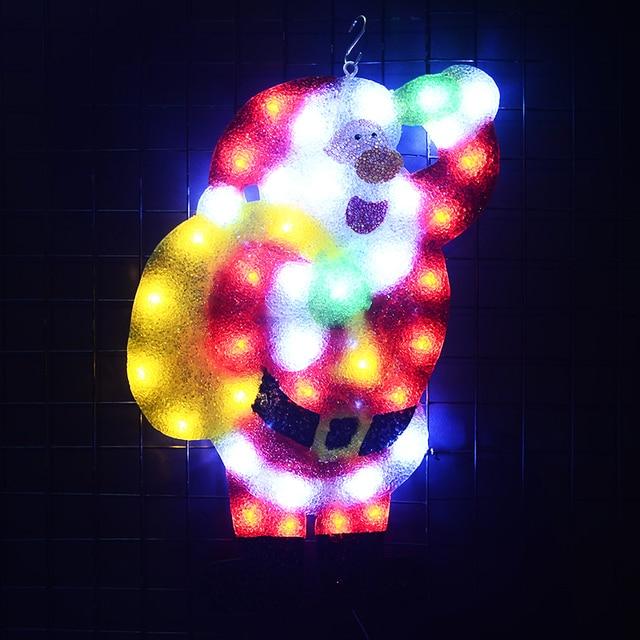 24V EVA Santa clause festival lights - 21 in. Tall navidad fairy lights luces led decoration christmas light outdoor home decor