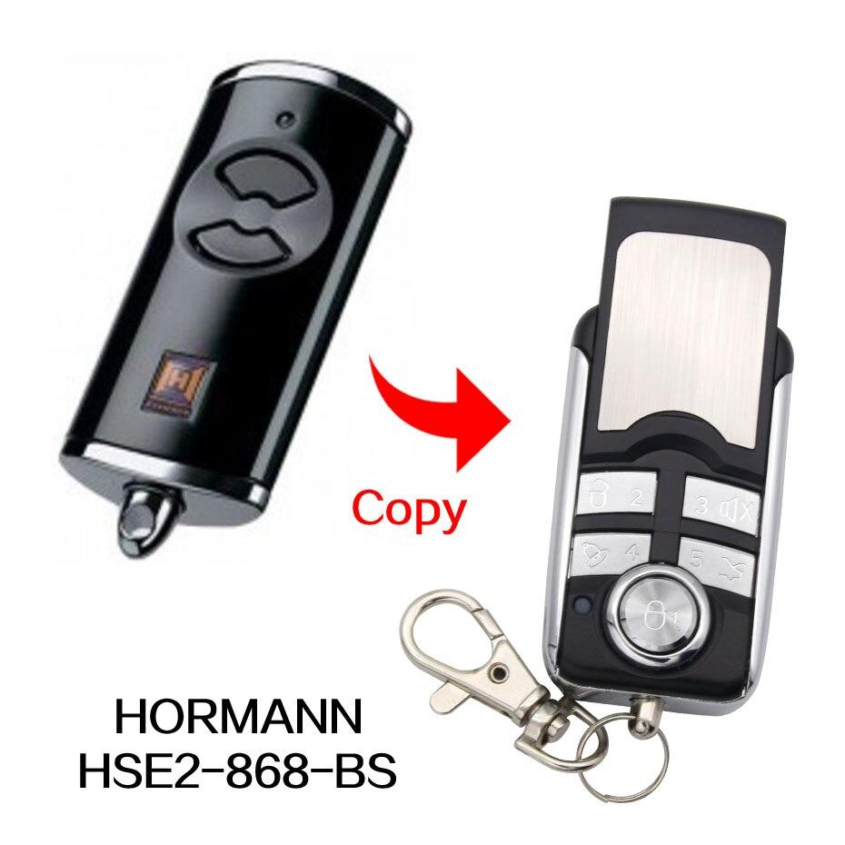 1-4X Hormann HSE2 868Mhz Garage Gate//Door Remote Control Replacement//Duplicator