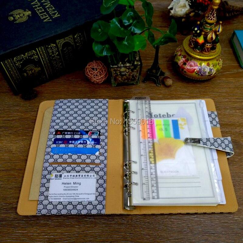 Great Source 2019 Planner A5 Notebook Gündəmi Doldurma 6 Üzük - Qeyd kitabçaları - Fotoqrafiya 5