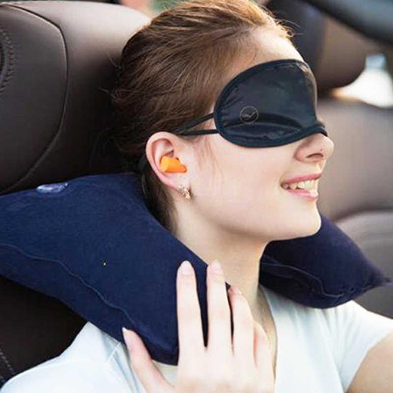 بيع 1 قطعة مسند الرأس لينة U شكل وسادة الهواء الطيران نفخ الوسائد سيارة التمريض وسادة وسادة السفر دعم الرقبة