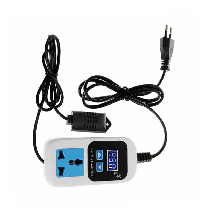 Combo Set Pre-wired Digitale Dural Stage Vochtigheid Controller En Verwarming Koeling Temperatuur Controller